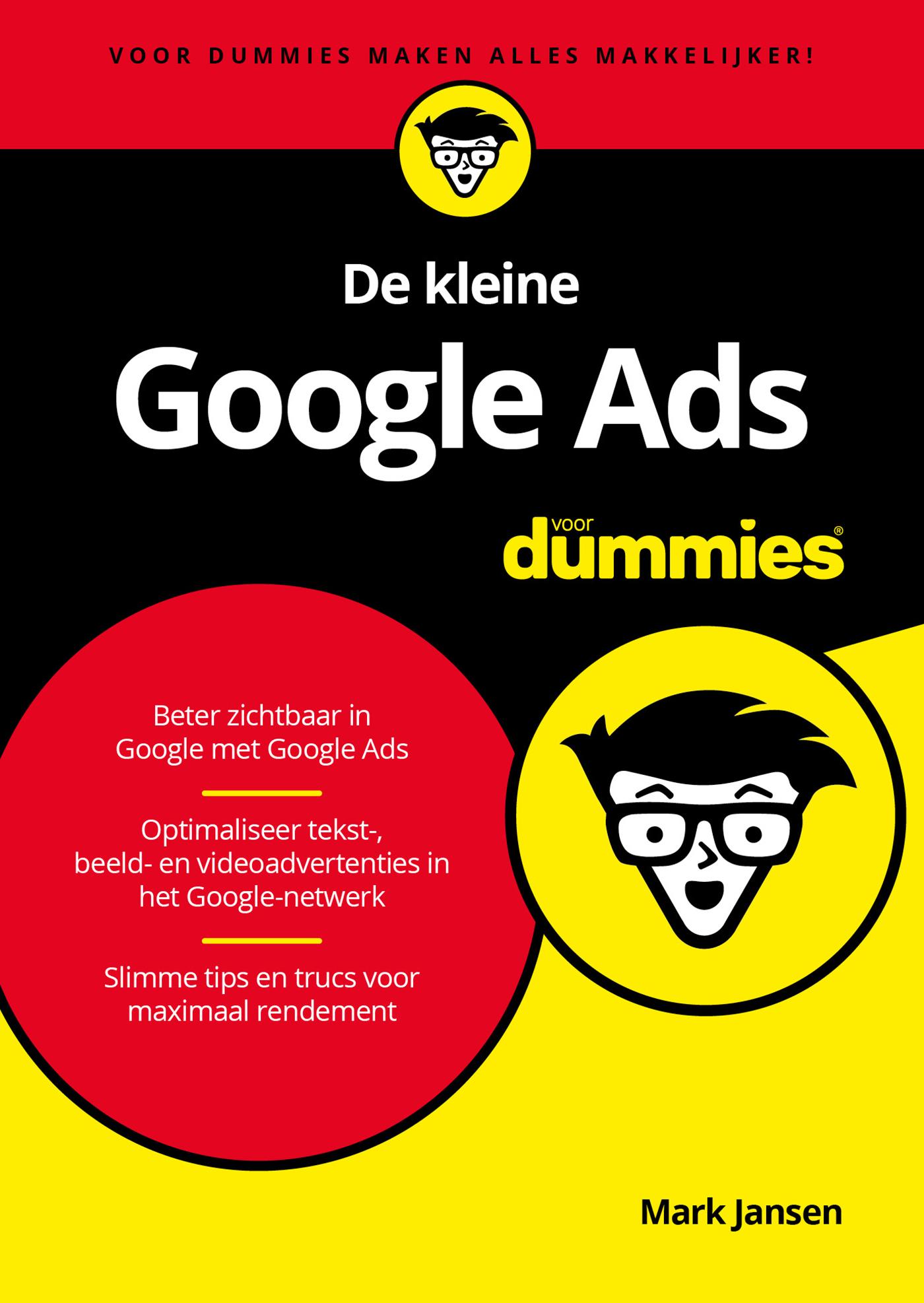 Cover De kleine Google Ads voor Dummies