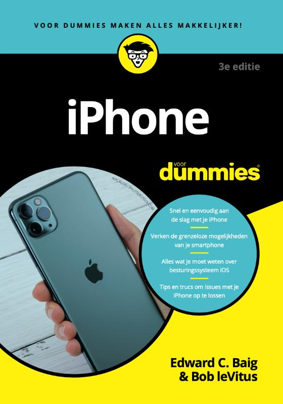 Cover iPhone voor Dummies