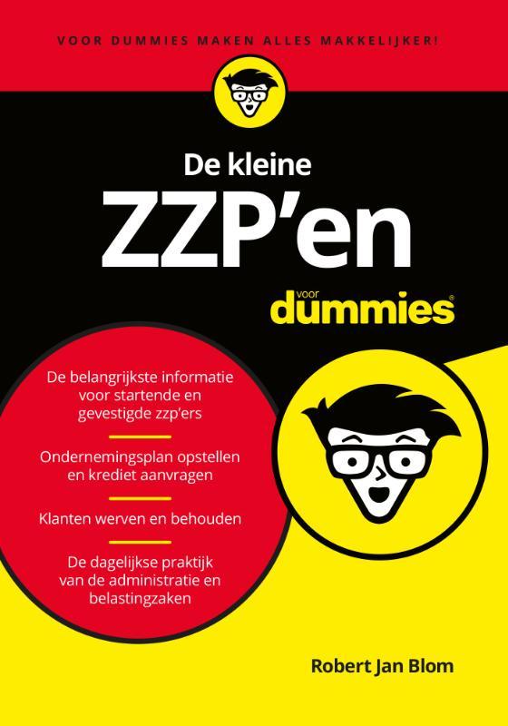 Cover De kleine ZZP'en voor Dummies