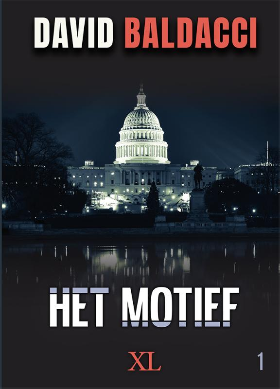 Cover Het motief - grote letter uitgave