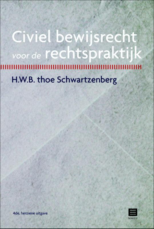 Cover Civiel bewijsrecht voor de rechtspraktijk
