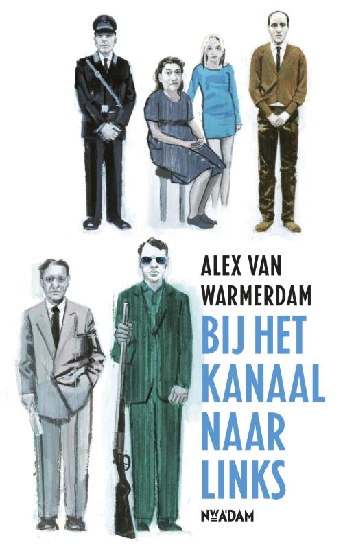 Cover Bij het kanaal naar links