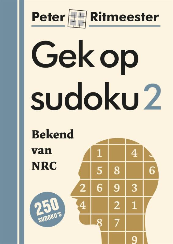 Cover Gek op sudoku 2