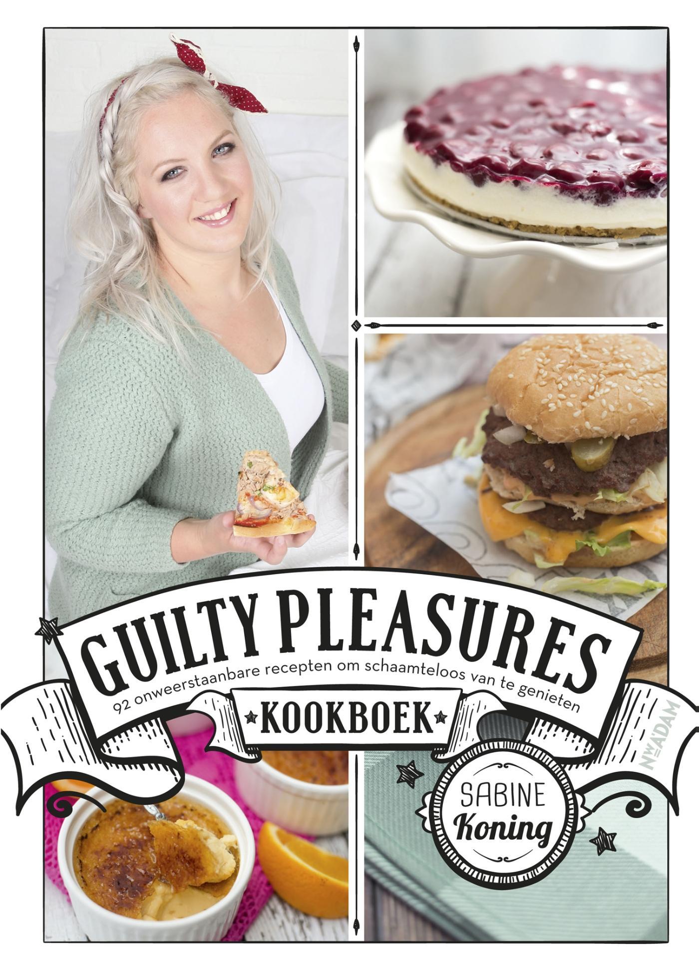 Cover Guilty Pleasures kookboek