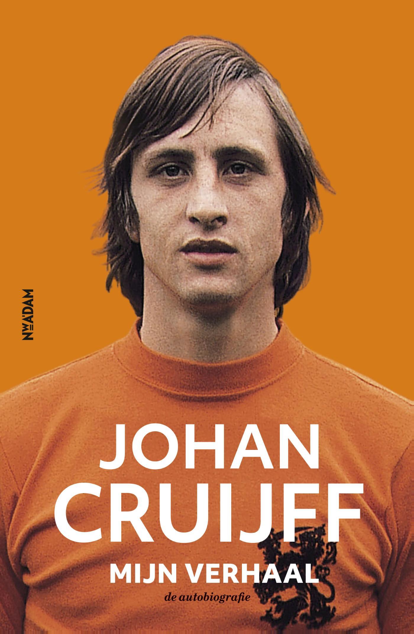 Cover Johan Cruijff – Mijn verhaal
