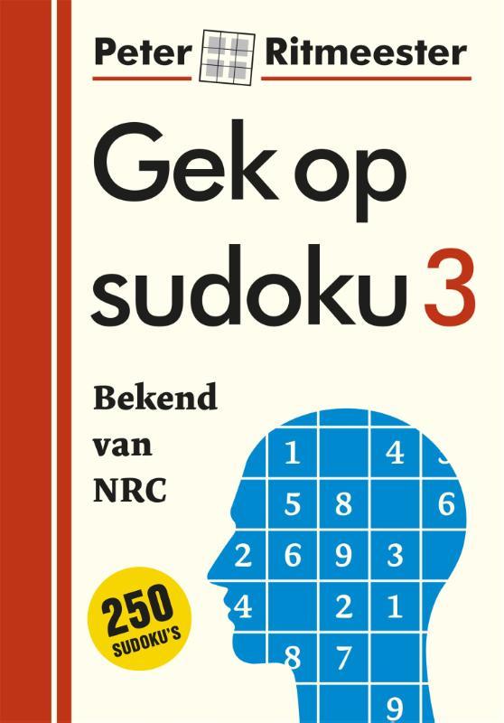 Cover Gek op sudoku 3