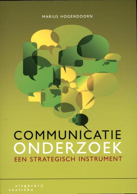 Cover Communicatieonderzoek