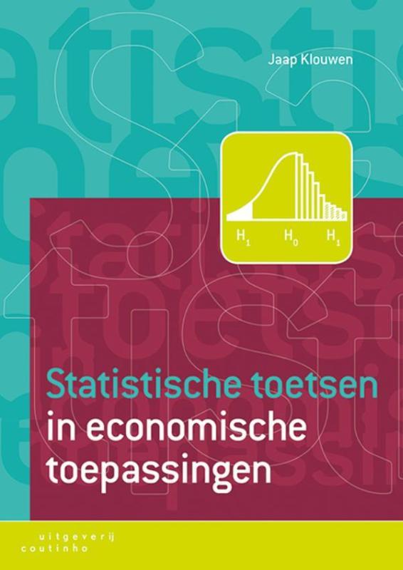Cover Statistische toetsen in economische toepassingen