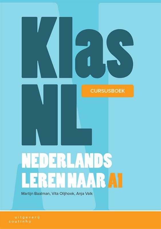 Cover KlasNL - Nederlands leren naar A1