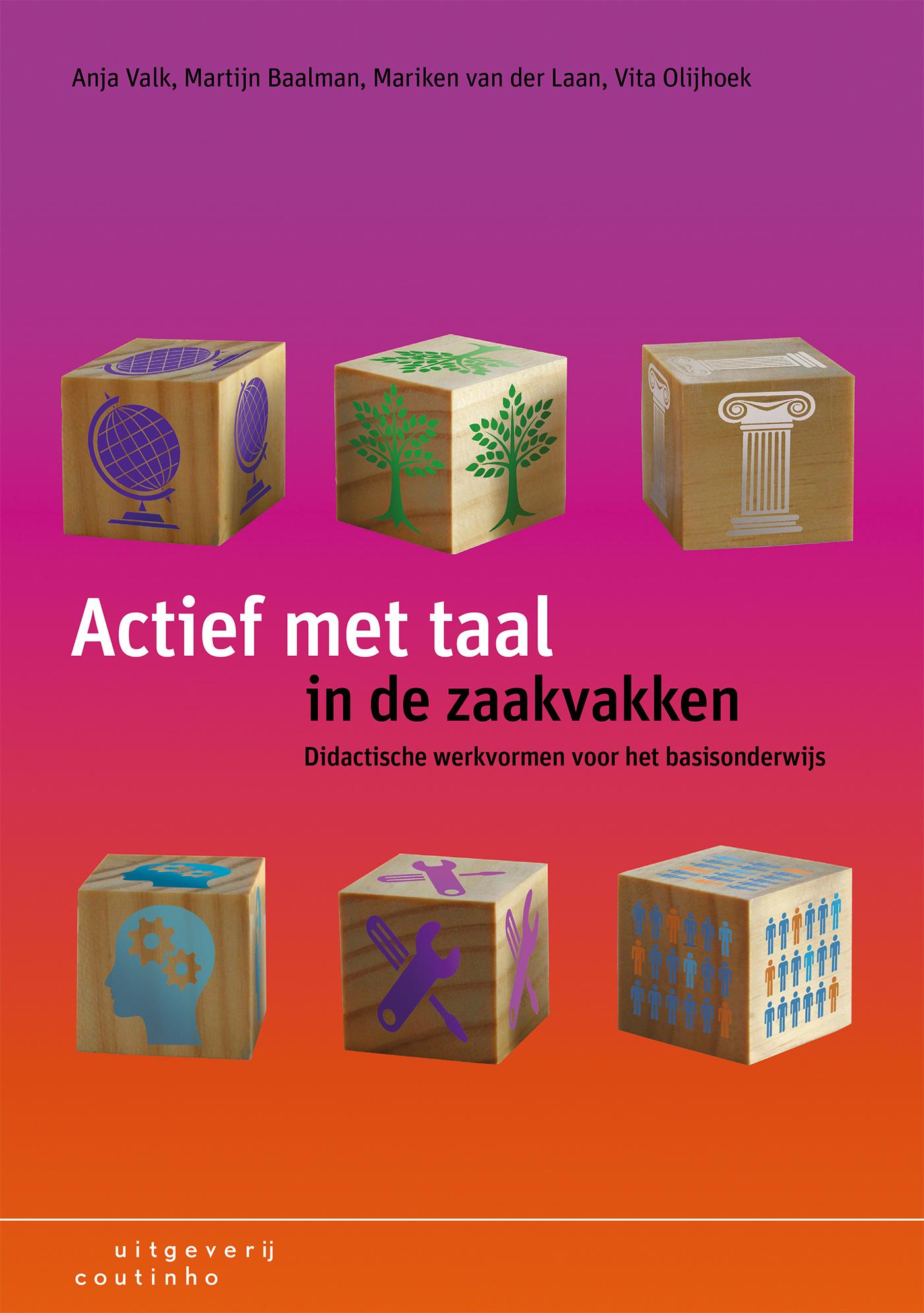 Cover Actief met taal in de zaakvakken