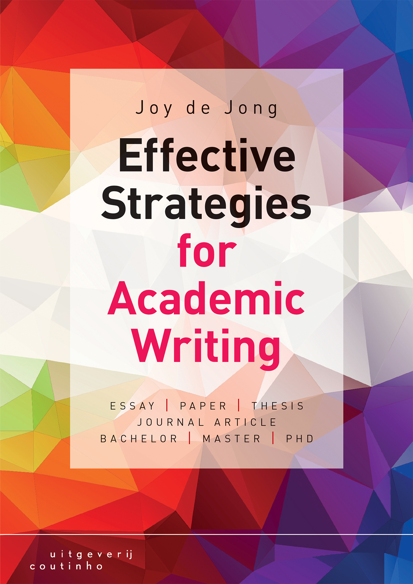 Cover Effective strategies for academic writing