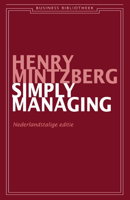 Cover Simply managing