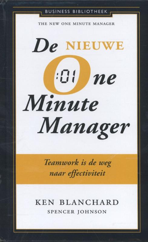 Cover De nieuwe one minute manager
