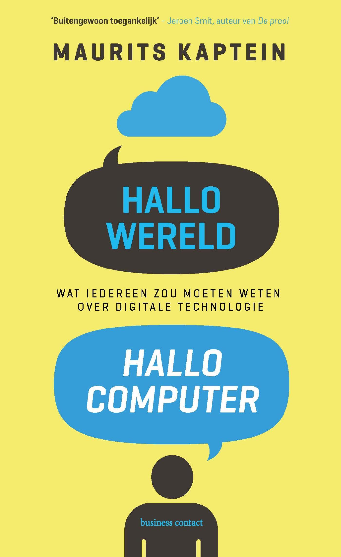Cover Hallo wereld, hallo computer
