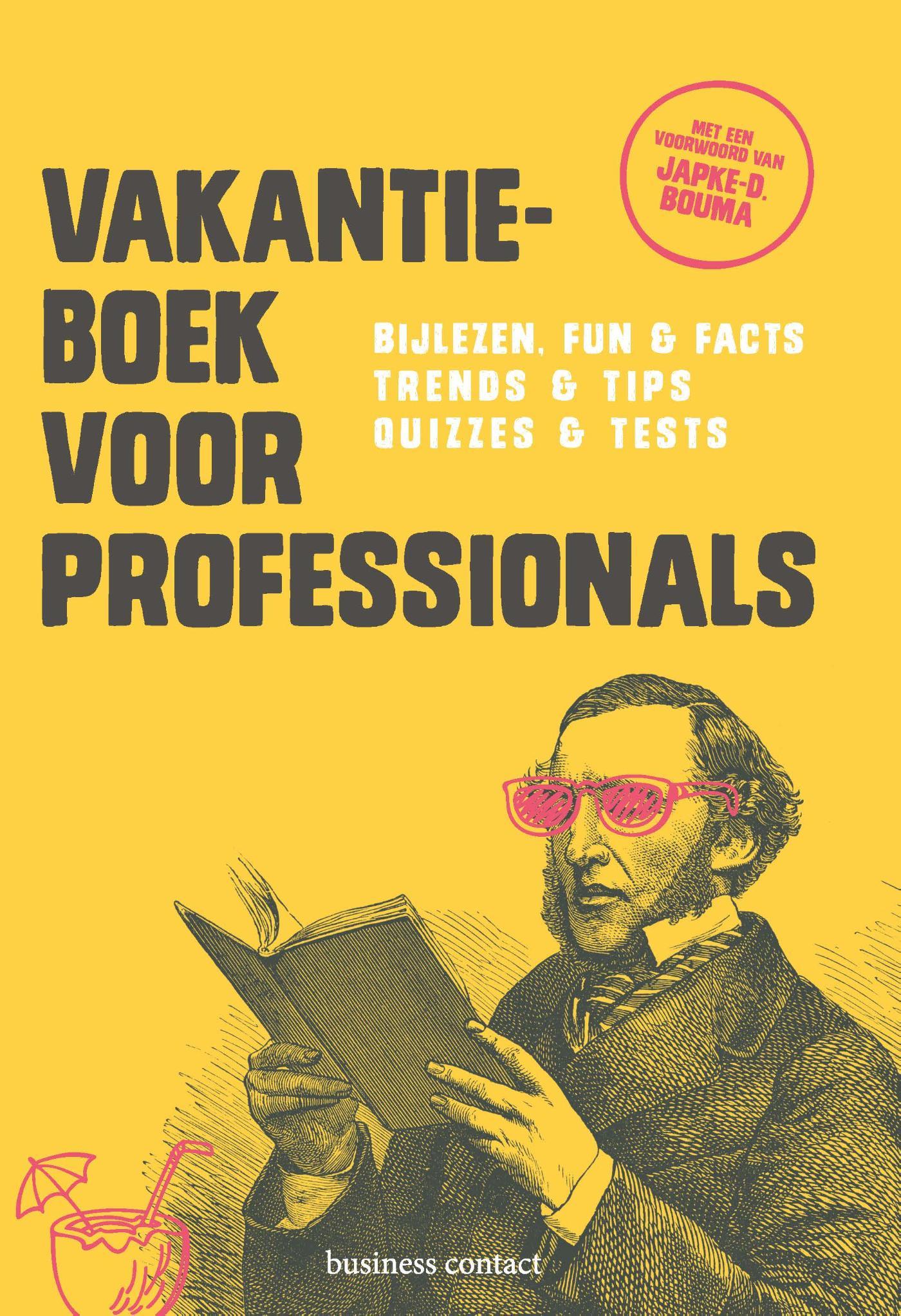 Cover Vakantieboek voor professionals