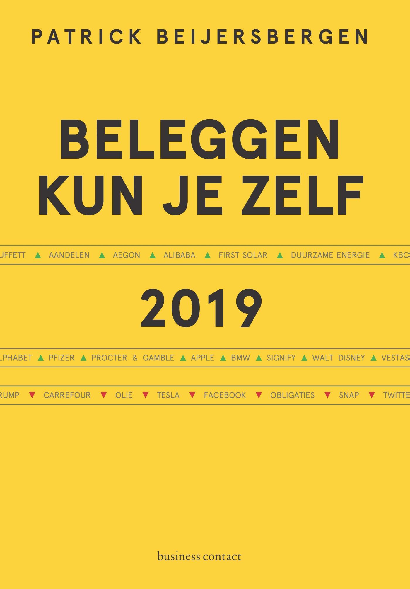 Cover Beleggen kun je zelf 2019