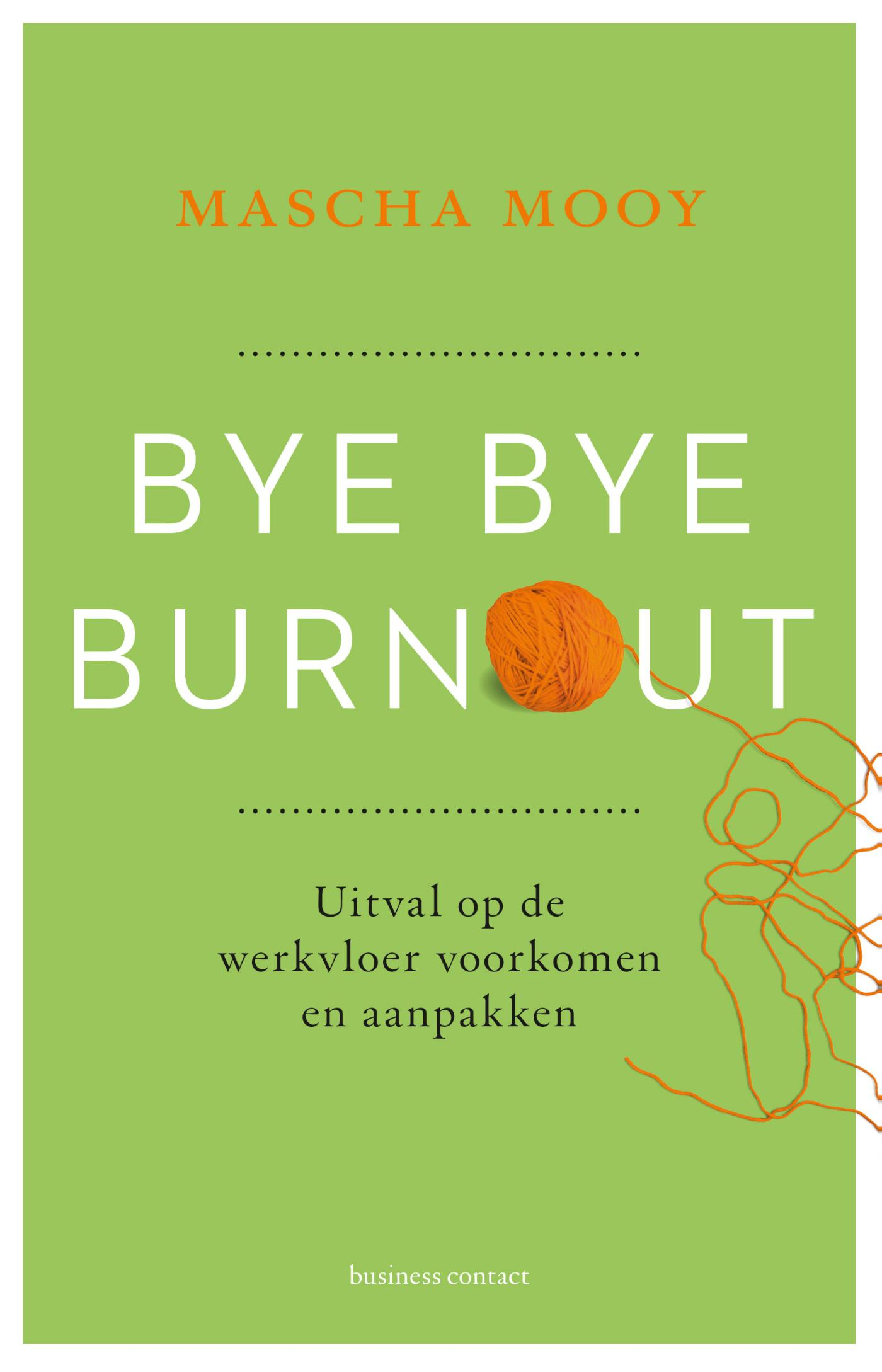 Cover Bye Bye Burnout