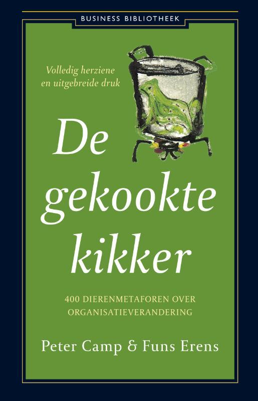 Cover De gekookte kikker