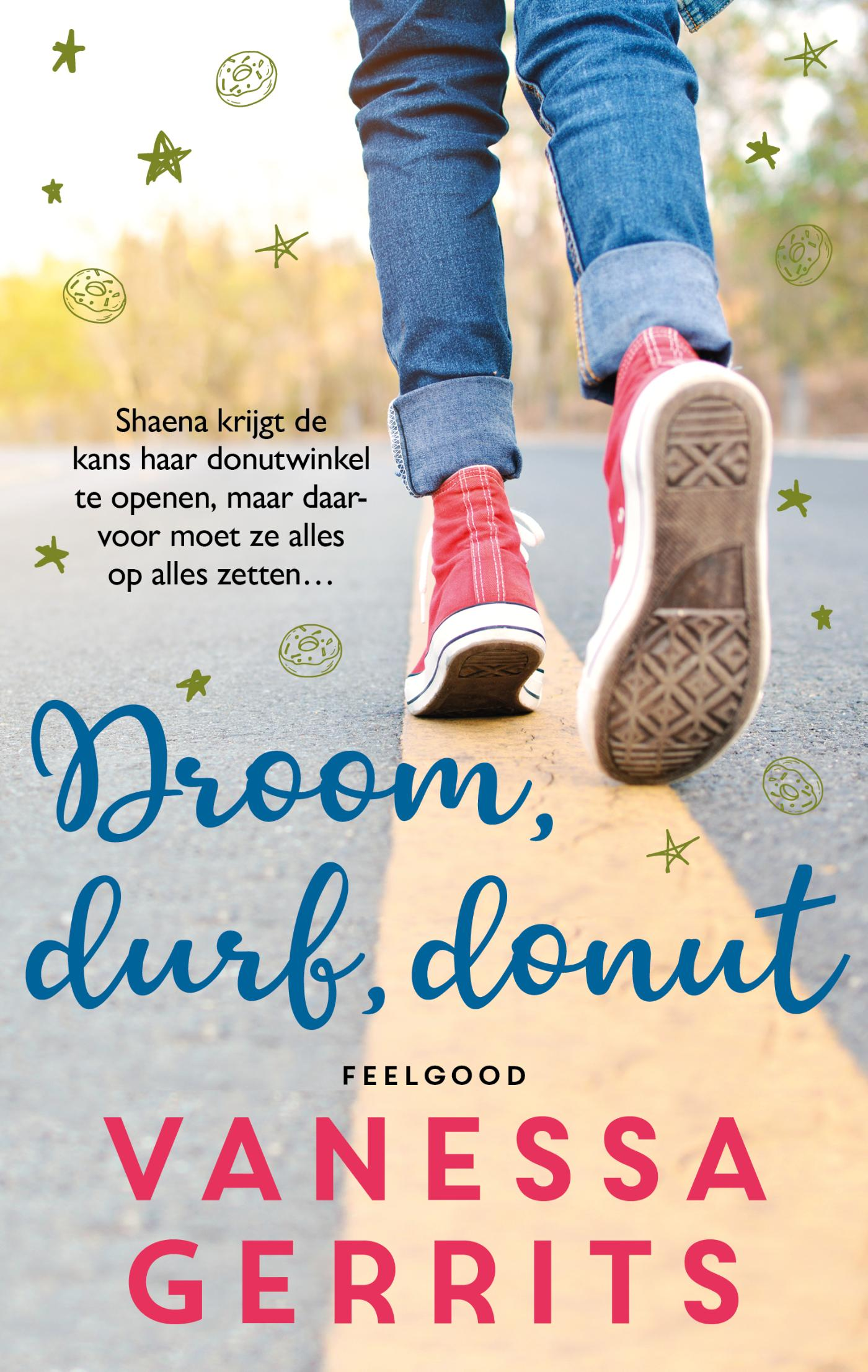 Cover Droom, durf, donut