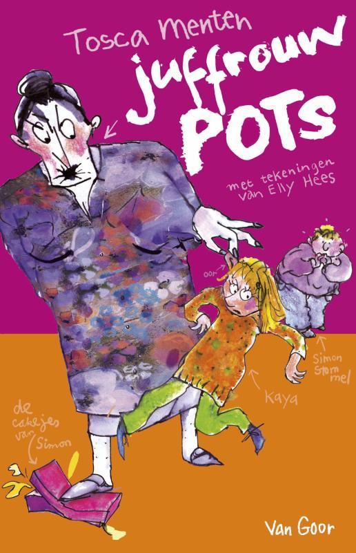 Boek Juffrouw Pots Geschreven Door Tosca Menten