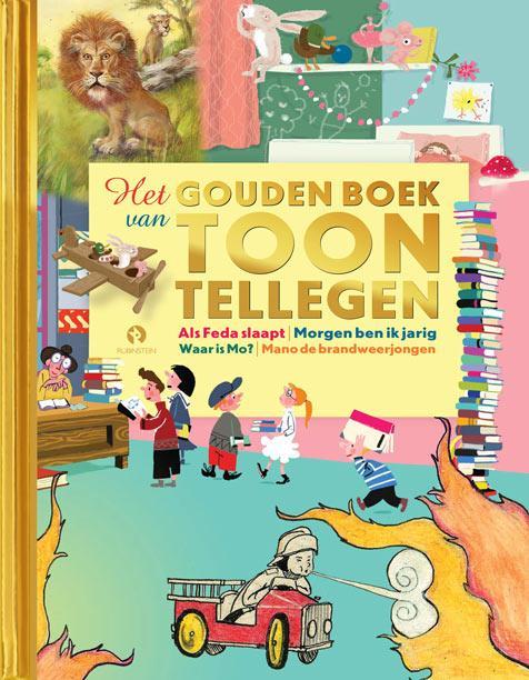 Boek Het Gouden Boek Van Toon Tellegen Geschreven Door Toon Tellegen