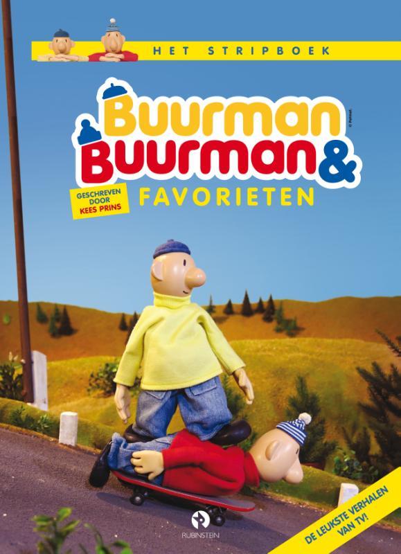 Cover Buurman & Buurman favorieten, het stripalbum
