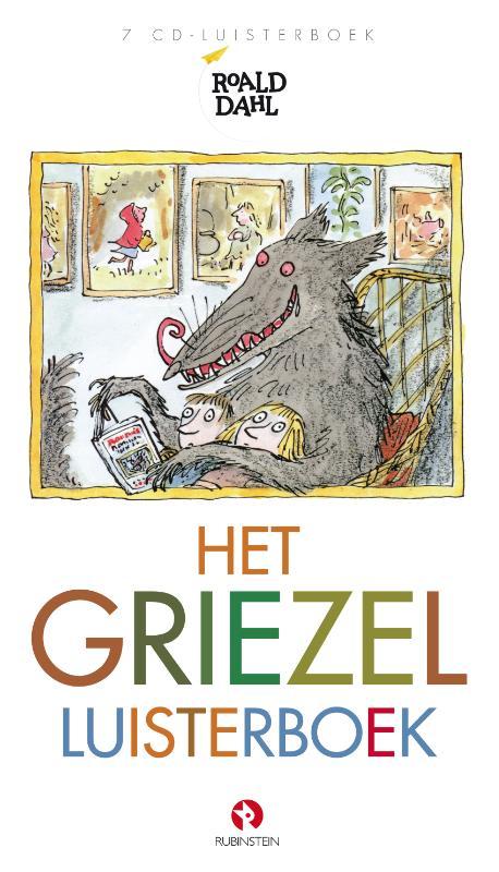 Cover Het griezel luisterboek