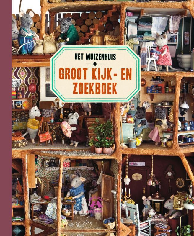 Cover Het Muizenhuis Groot Kijk-en zoekboek