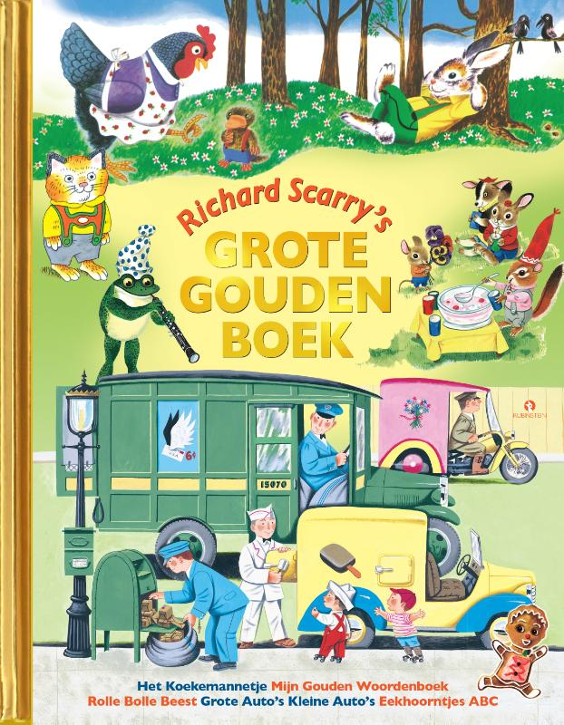 Cover Richard Scarry's grote gouden boek