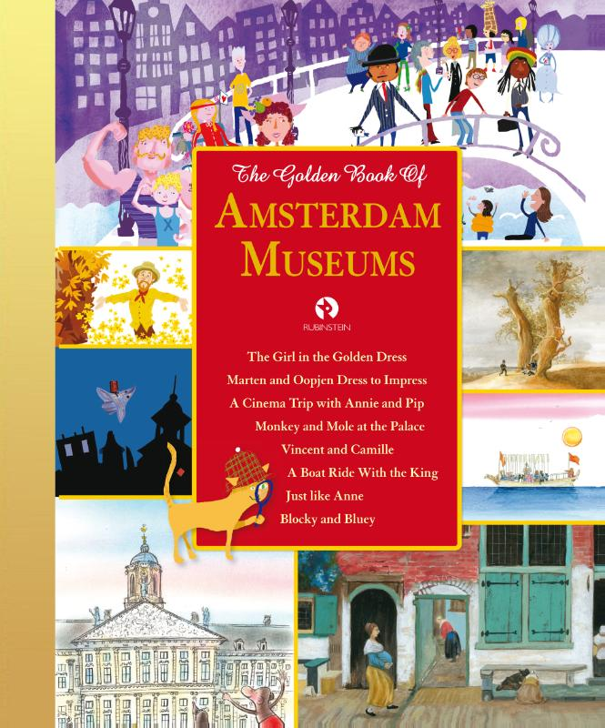 Cover The Golden Book of Amsterdam Museums