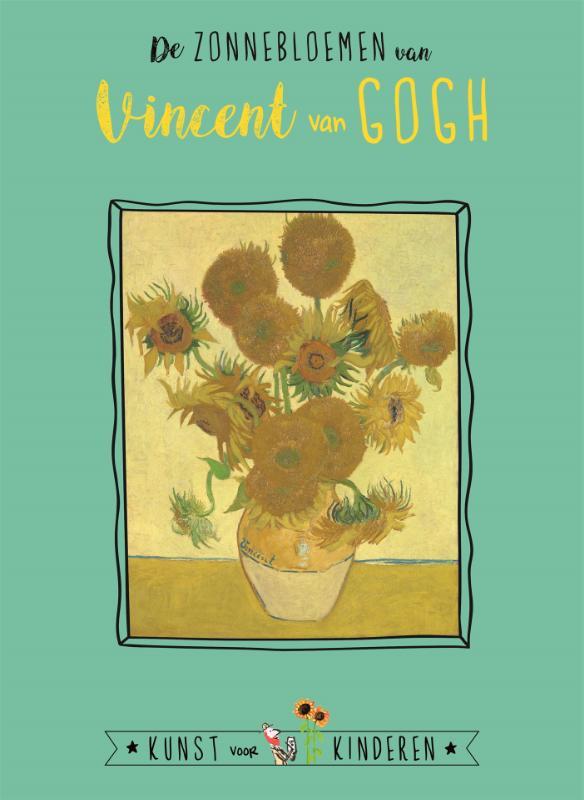 Cover De zonnebloemen van Vincent van Gogh