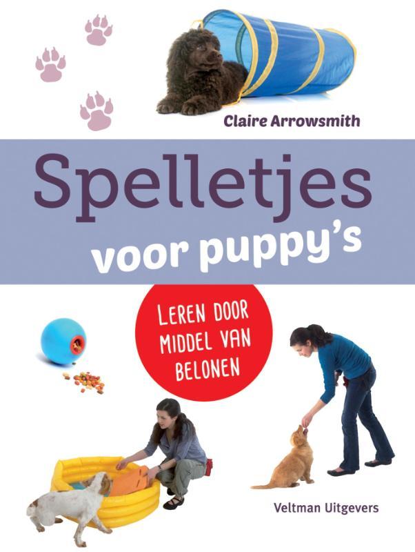 Cover Spelletjes voor puppies