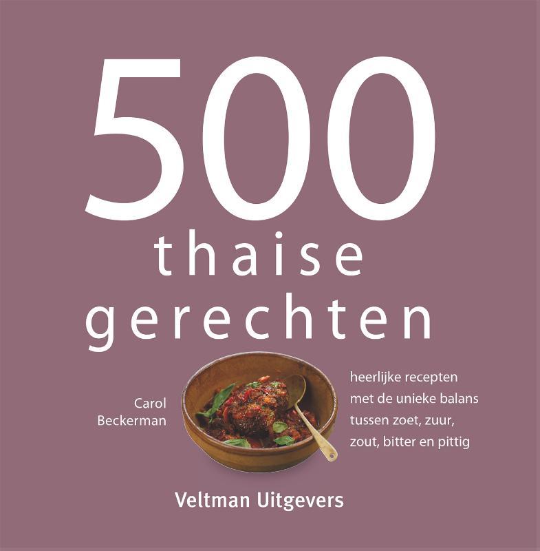 Cover 500 thaise gerechten