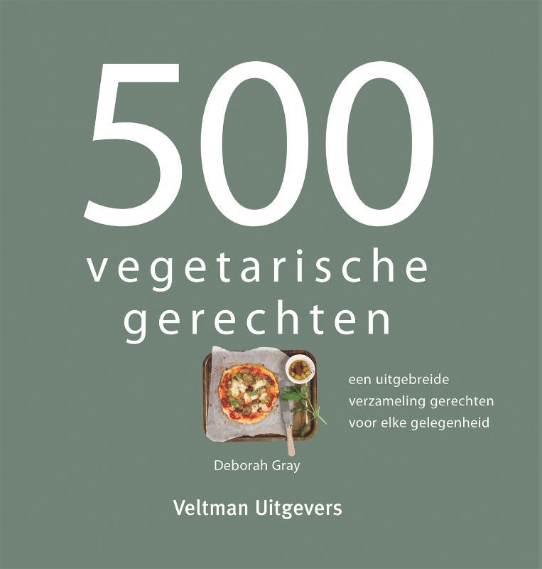 Cover 500 vegetarische gerechten