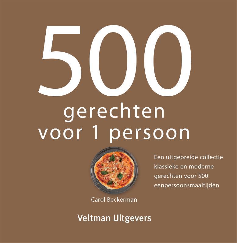 Cover 500 gerechten voor 1 persoon