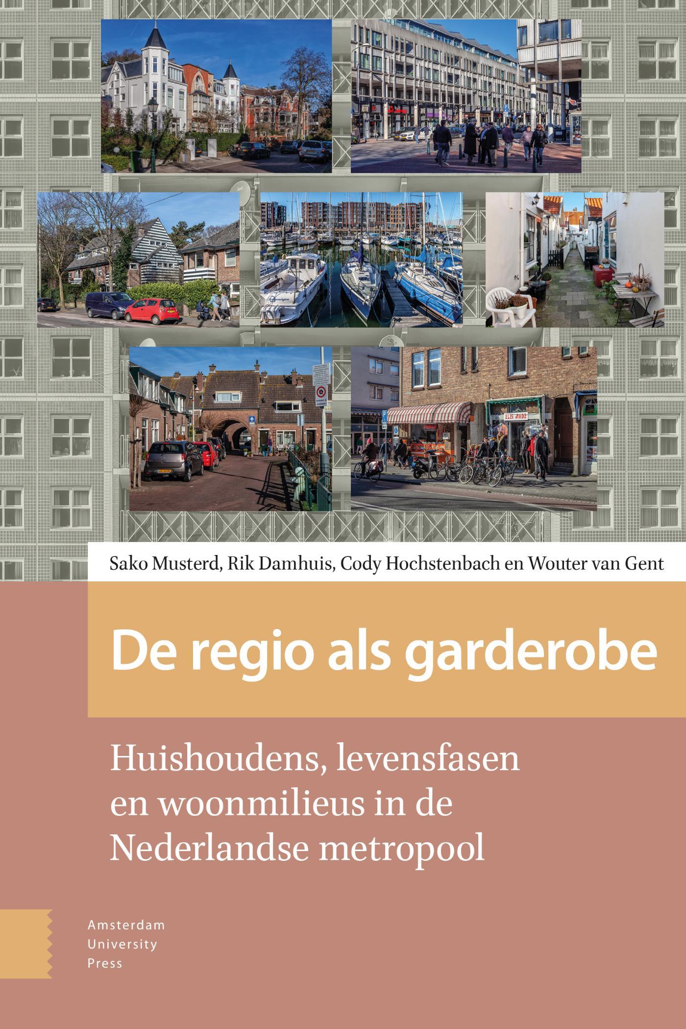 Cover De regio als garderobe