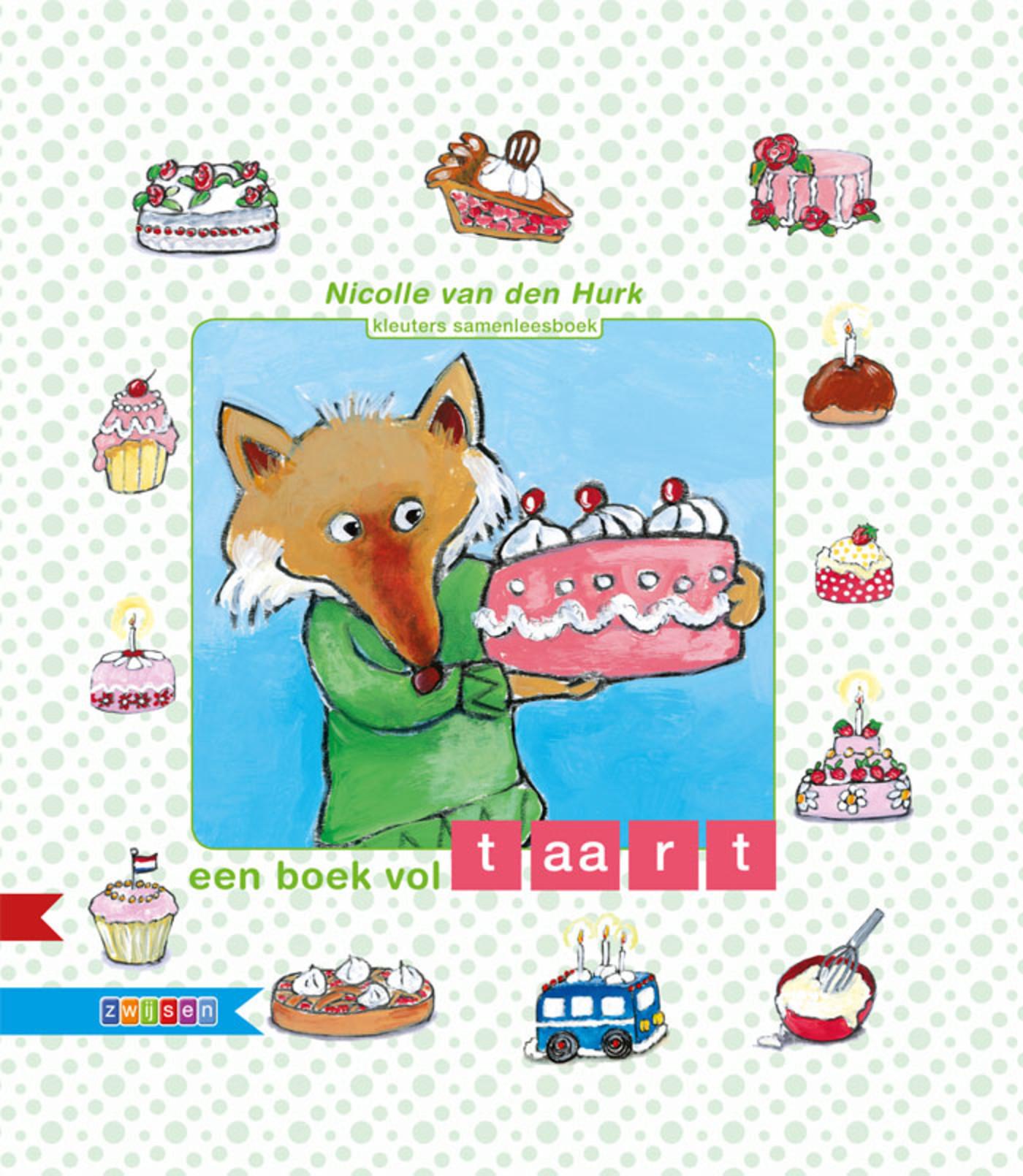 Cover Een boek vol taart