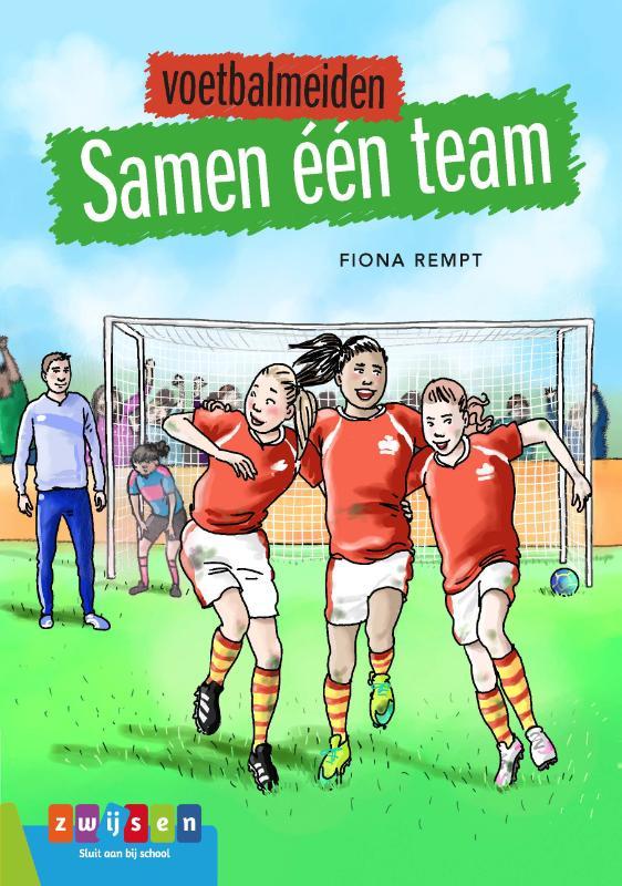 Cover Voetbalmeiden Samen één team