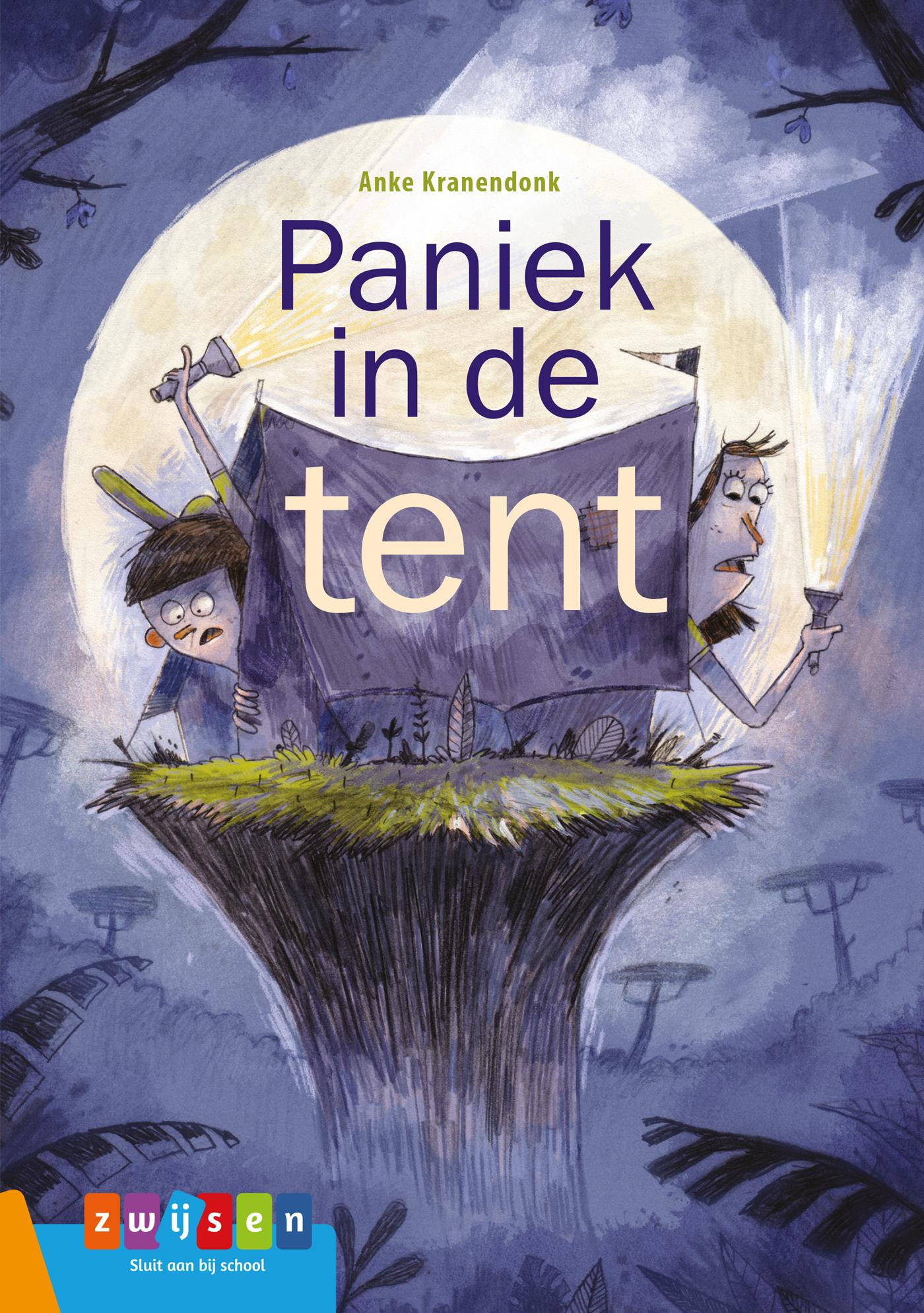 Cover Paniek in de tent