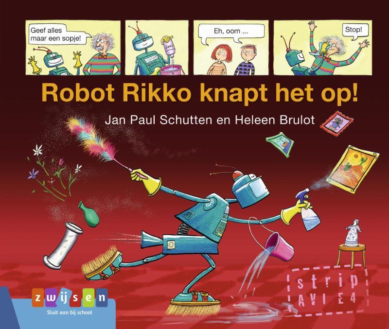 Cover Robot Rikko knapt het op!