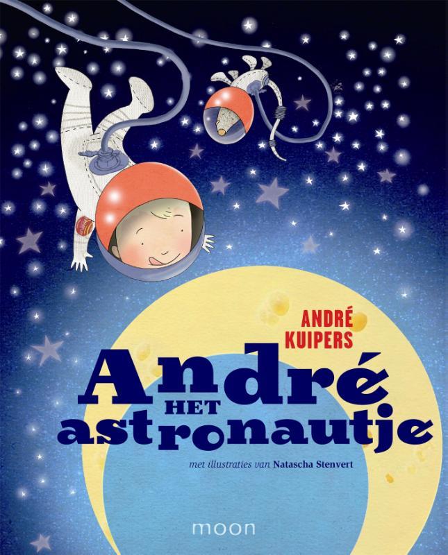 Cover Andre het astronautje