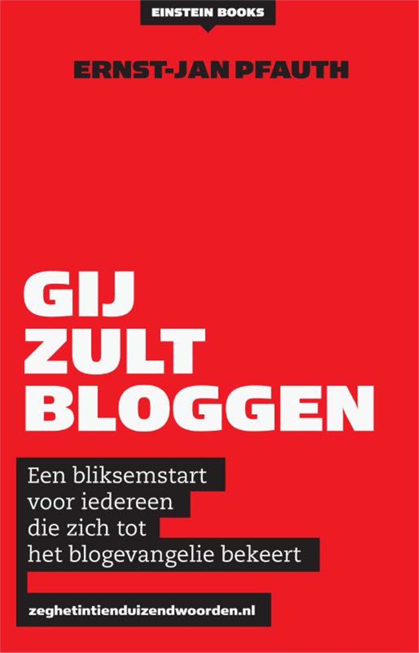 Cover Gij zult bloggen