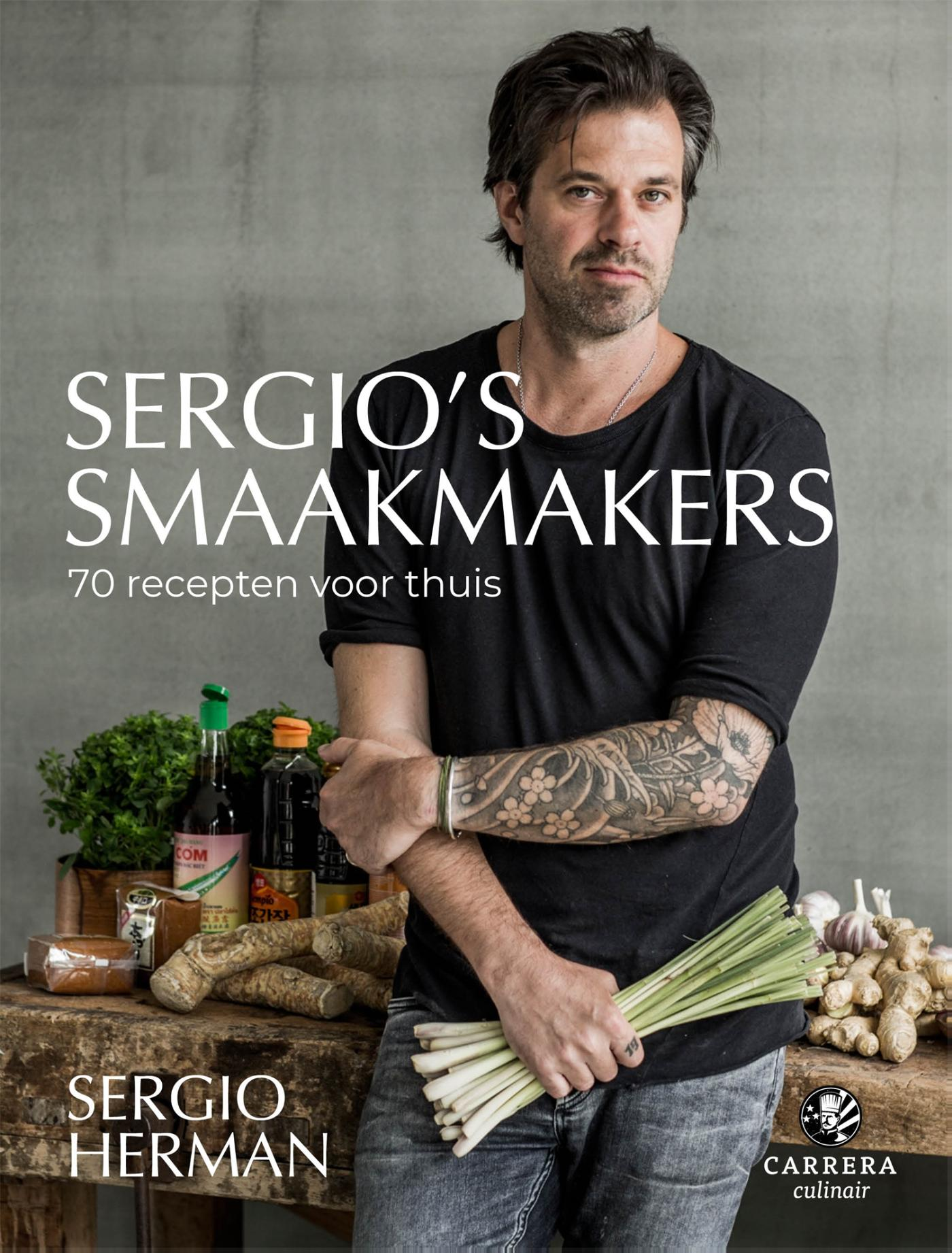 Cover Sergio's smaakmakers