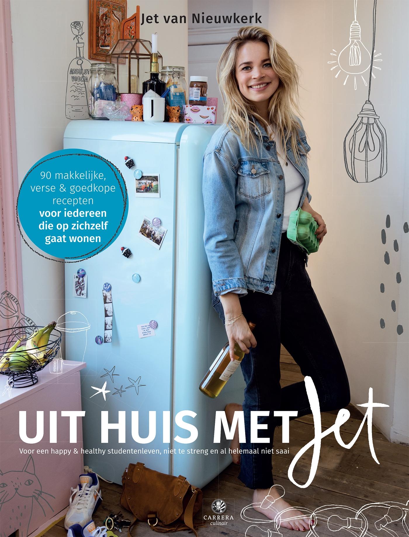 Cover Uit huis met Jet