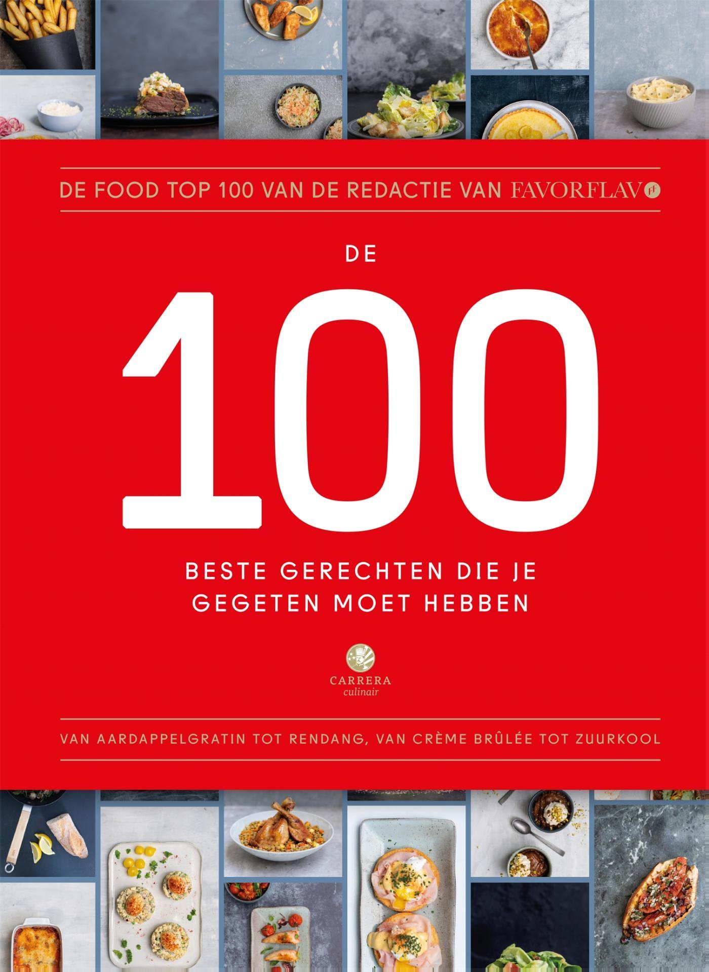 Cover De 100 beste gerechten die je gegeten moet hebben