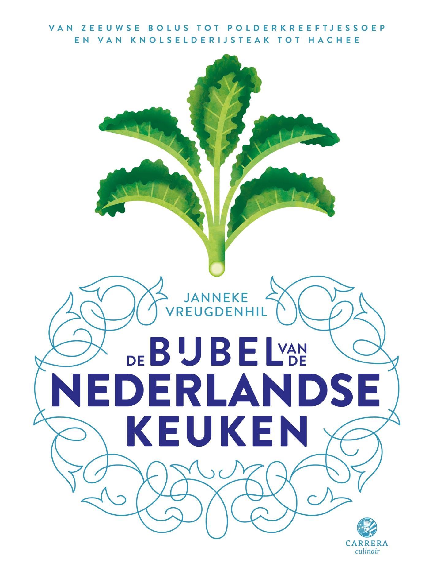 Cover De bijbel van de Nederlandse keuken