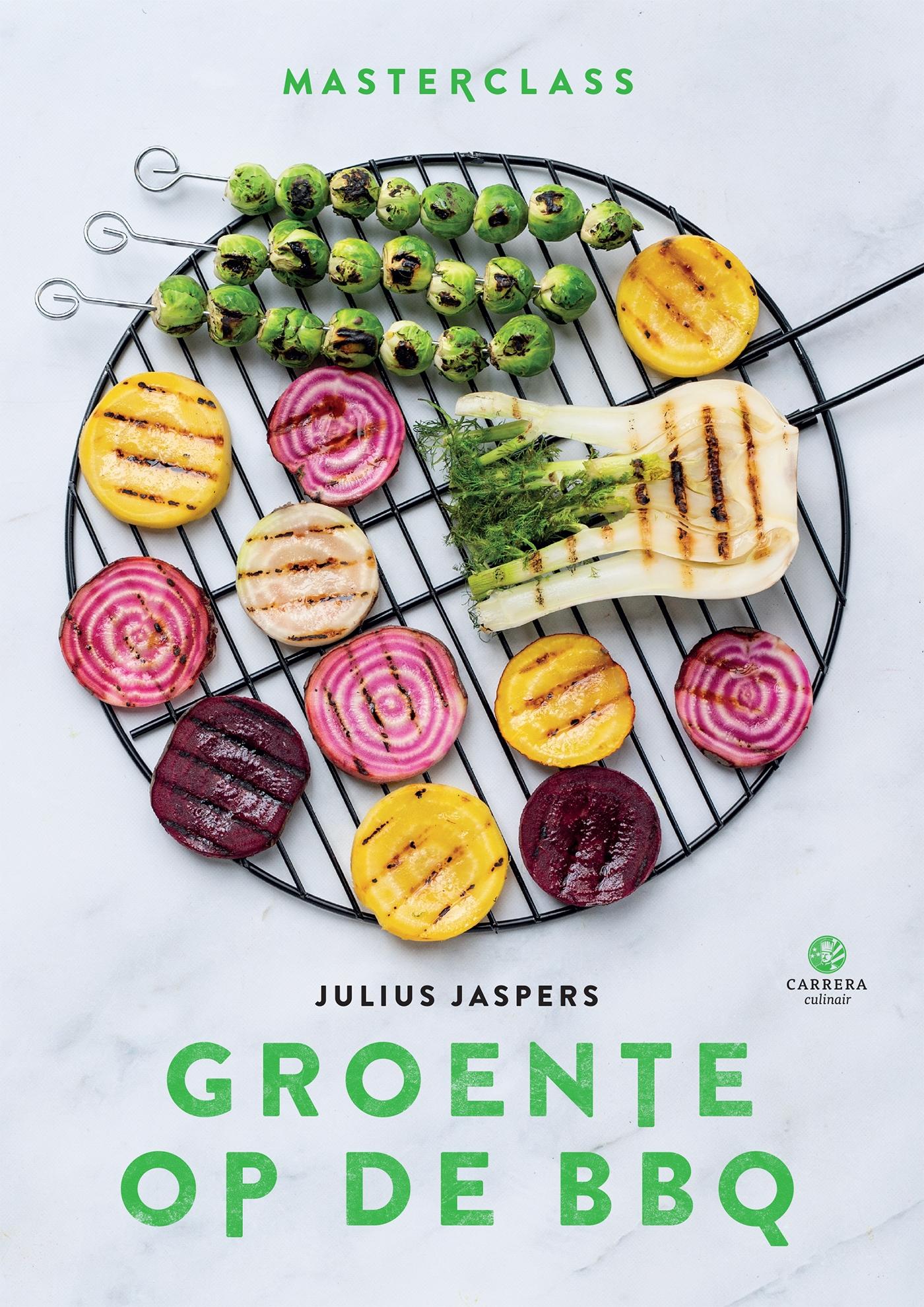 Cover Groente op de BBQ