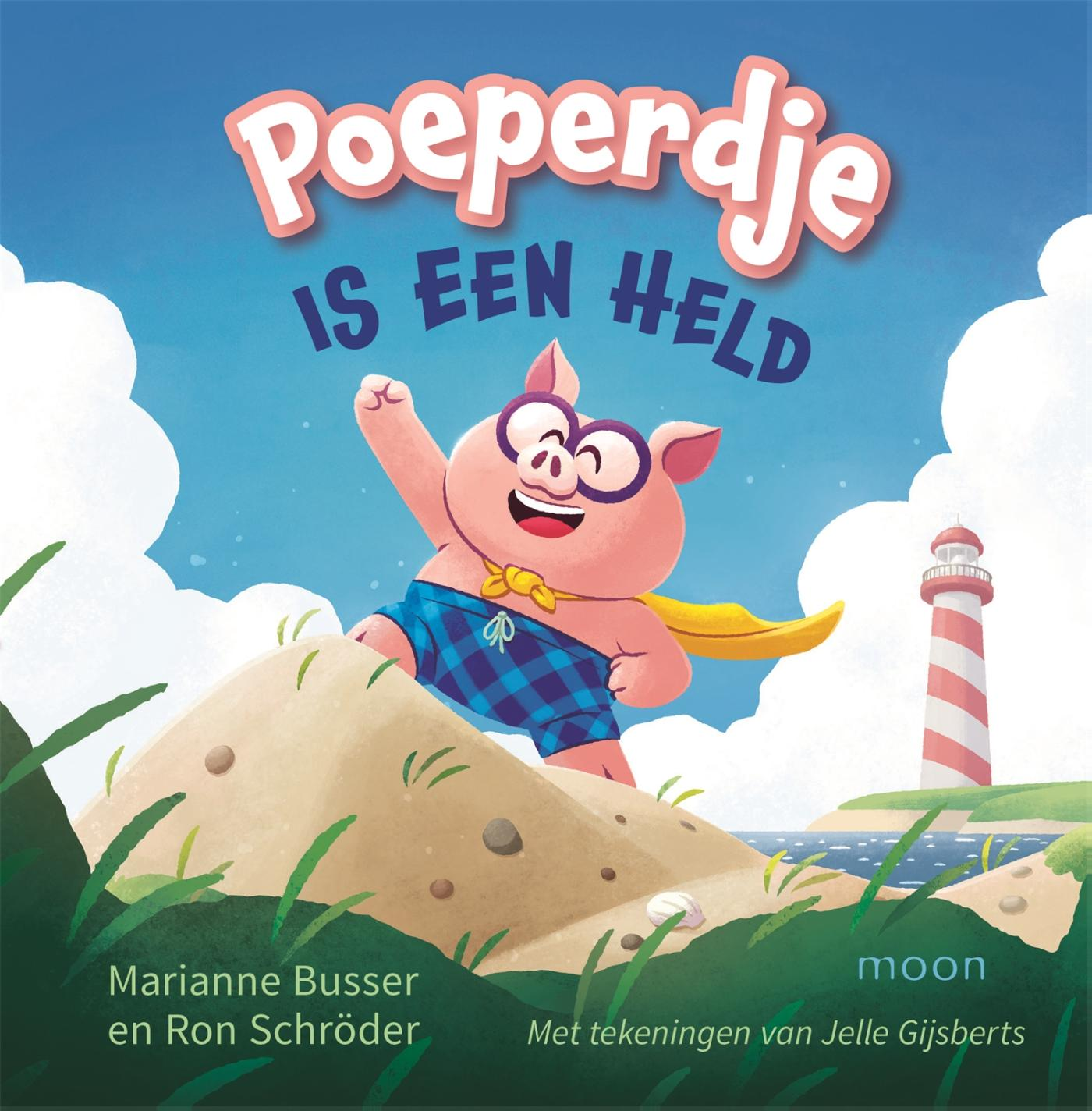 Cover Poeperdje is een held