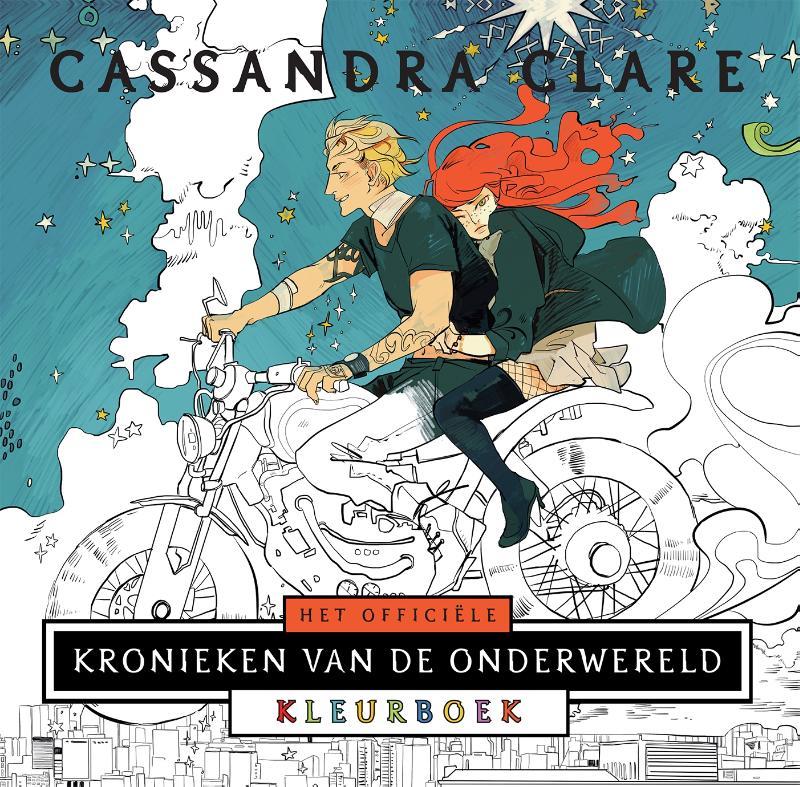 Cover Het officiële Kronieken van de Onderwereld Kleurboek