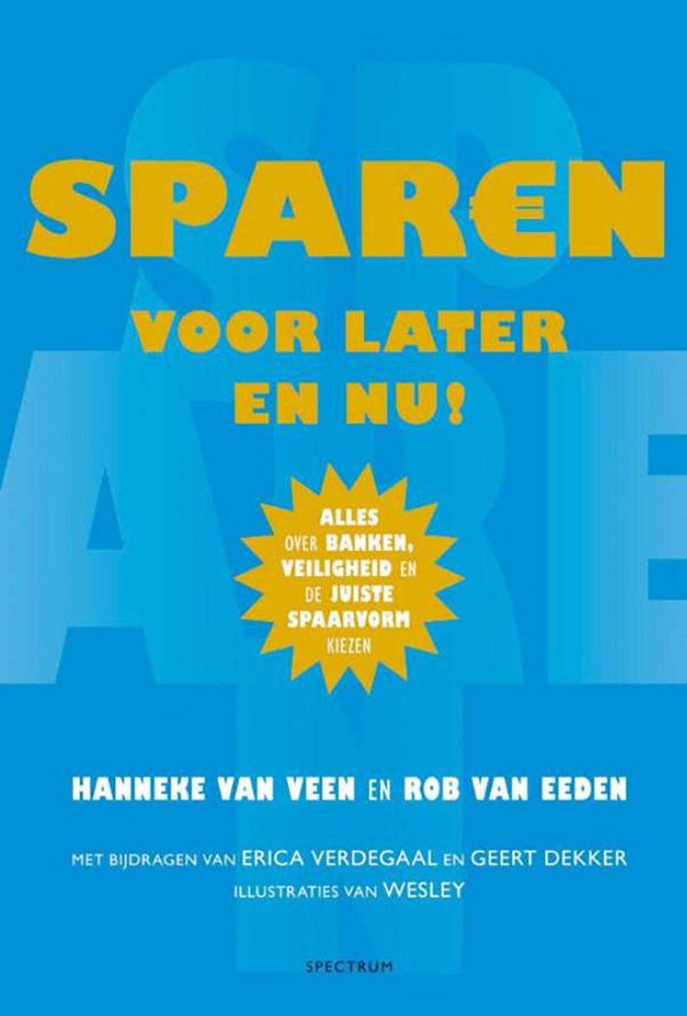 Cover Sparen voor later en nu!
